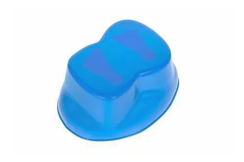 Imagem de Troninho Pinico Comum Infantil Bichinho Azul Bic e Azul Bebê
