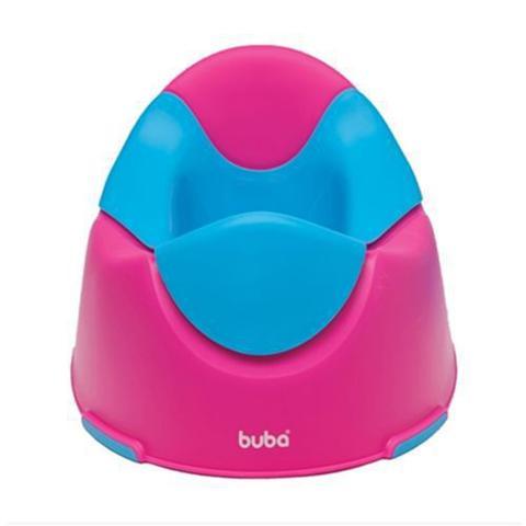 Imagem de Troninho Pinico Infantil Confortável Menina Rosa e Azul Buba
