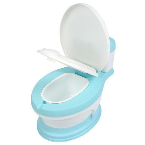 Imagem de Troninho Privadinha Assento Redutor Pinico Infantil Azul  Ápia