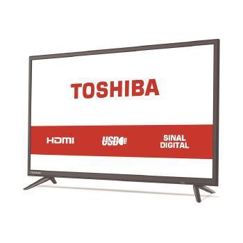 Imagem de TV 32 Polegadas SEMP Toshiba LED HD USB HDMI - TV 32L1800