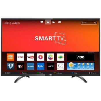 Imagem de Tv 43p aoc led smart wifi full hd usb hdmi - le43s5970s