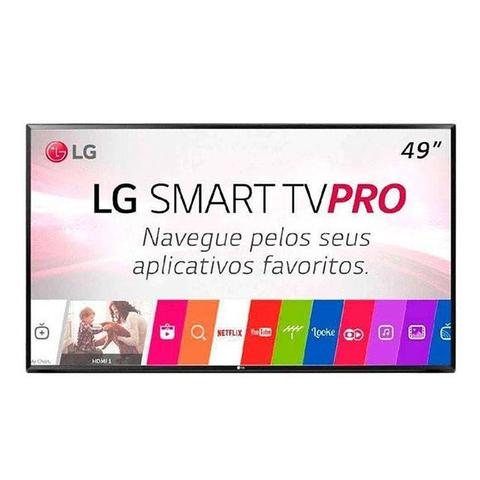 "Tv 49"" Led LG Full Hd Smart - 49lj551c"