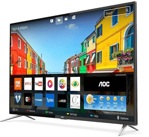 "Tv 50"" Led AOC 4k - Ultra Hd Smart - Le50u7970s"