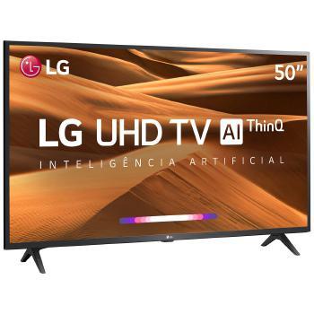 Imagem de Tv 50p lg led smart 4k usb hdmi comando de voz - 50um7360psa.awz