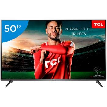 Imagem de Tv 50p tcl led smart 4k usb hdmi - 50p65us