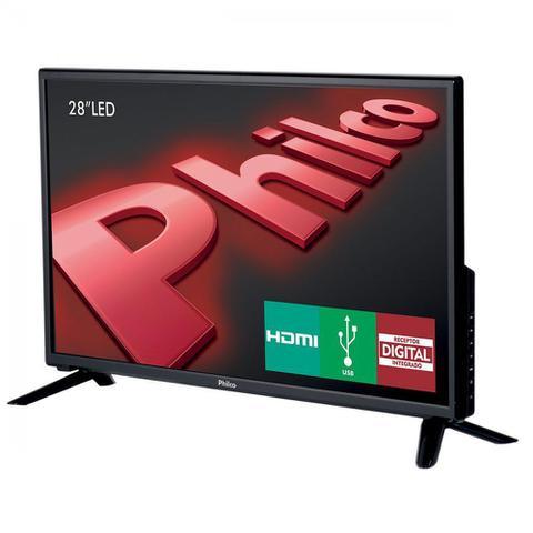 Imagem de TV LED 28 Polegadas Philco PH28D27D Conversor TV Digital Integrado