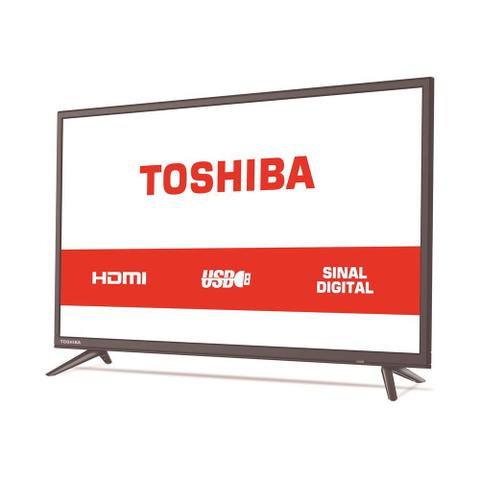 Imagem de TV LED 32 Polegadas Semp Toshiba 32L1800 HD USB HDMI