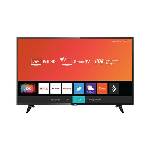 "Tv 43"" Led AOC Full Hd Smart - 43s5295/78g"