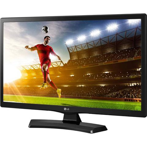 Imagem de TV LED LG HD 19,5 pol 20MT49DF-PS Conversor Digital 1 HDMI 1 USB 60Hz Time Machine Ready Preta