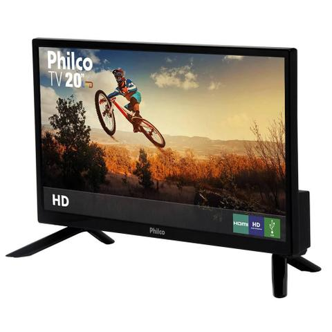 "Imagem de TV LED Philco 20"" PH20N91D HDMI, USB, Receptor Digital"