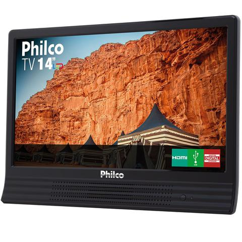 "Imagem de TV Philco Led 14"" HD PH14E10D"