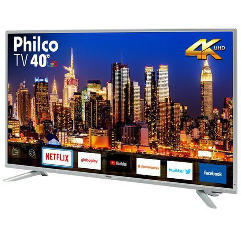Imagem de TV Philco Led 4K 40