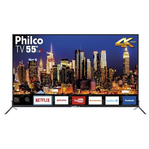 Imagem de TV Philco Led 4K 55
