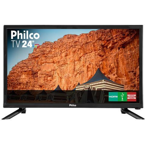 "Imagem de TV Philco Led HD 24"" PH24N91D"