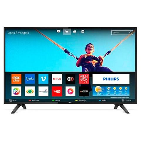 Imagem de Tv philips 43 smart led 43pfg5813 quad core full hd