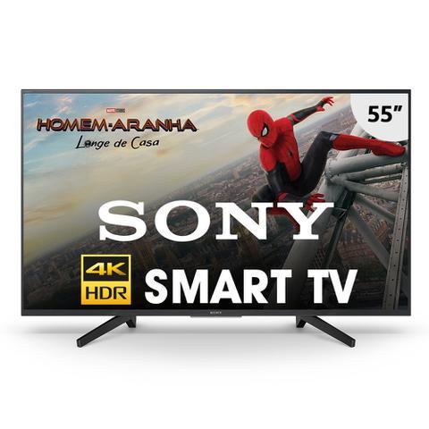 Imagem de Tv smart sony 55'' led 4k hdr kd-55x705f / android tv/ 4k x-reality pro/ wifi/ radio fm/ usb/ hdmi/ netflix