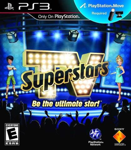 Jogo Tv Superstars Be The Ultimate Star - Playstation 3 - Sieb