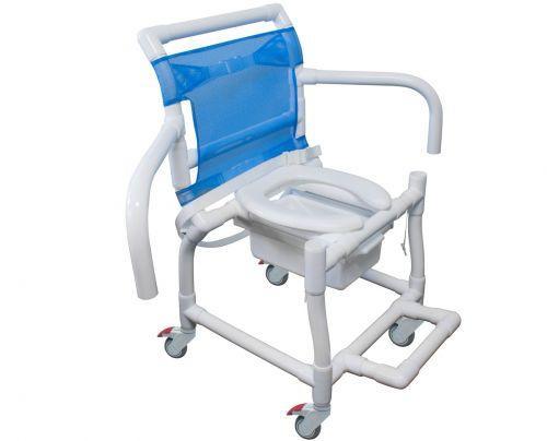 Imagem de (U)Cadeira  Banho B. Escamoteavel Pvc Obeso Carcil
