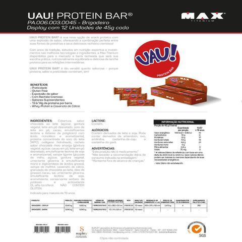 Imagem de Uau Protein 45g c/ 12 unidades - Max Titanium