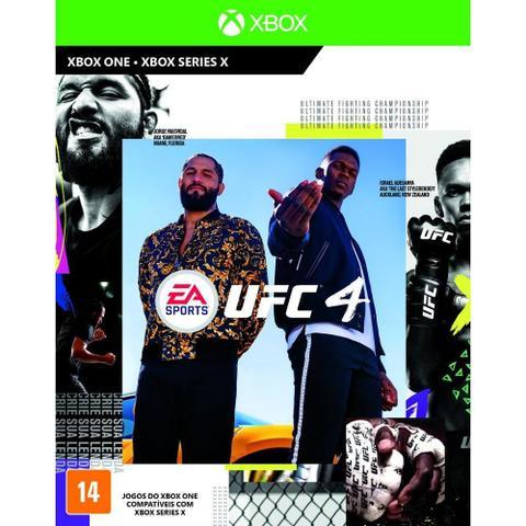 Jogo Ufc 4 - Xbox One - Ea Sports