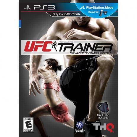 Jogo Ufc Personal Trainer Com Leg Strap - Playstation 3 - Thq