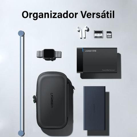 Imagem de UGreen Case Estojo Bag Eva para HD Externo 2,5 PowerBank