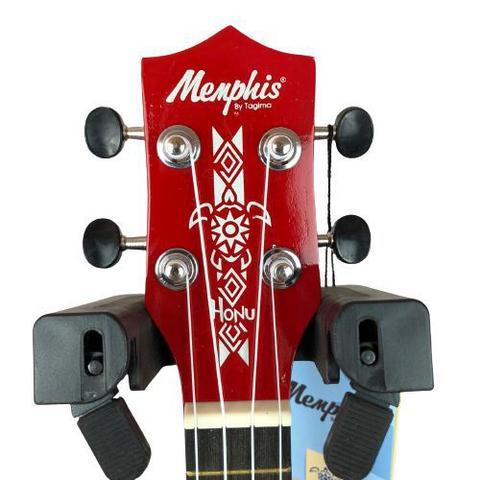 Imagem de Ukulele Soprano Neon Vermelho Memphis Honu Madeira By Tagima