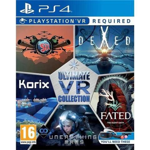 Jogo Ultimate Vr Collection - Playstation 4 - Sony