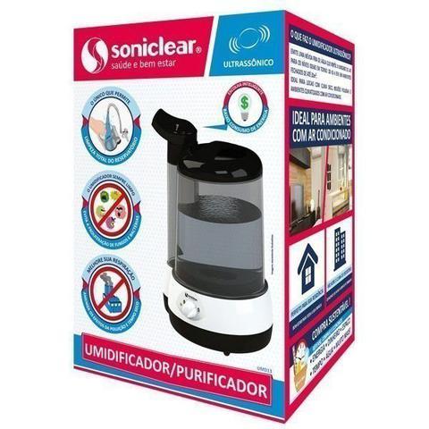 Imagem de Umidificador e Purificador Ultrassonico 3 Litros Soniclear