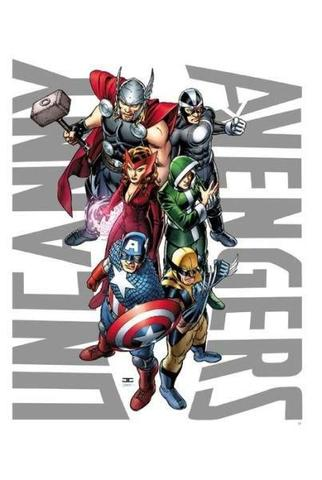 Imagem de Uncanny Avengers Vol.1 - The Red Shadow - Marvel