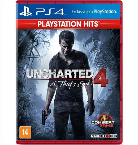 Jogo Uncharted 4 a Thief's End Hits - Playstation 4 - Sieb