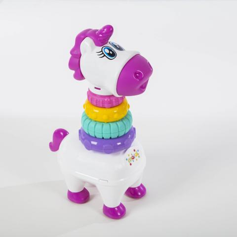 Imagem de Unicórnio Blocos Didático Baby Pony Solapa