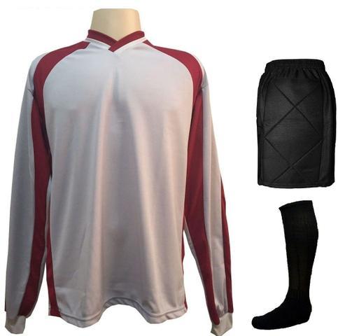 930234913e487 Imagem de Uniforme Completo modelo Roma 18+1 (18 Camisas Royal Preto +