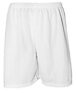Imagem de Uniforme Esportivo com 12 camisas modelo Dubai Branco Royal + 12  calções modelo bb2b329562c1c