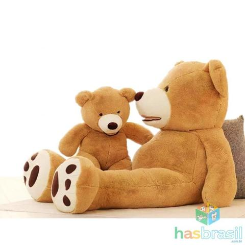 Imagem de Urso de Pelucia Gigante Teddy com 1 metro e 50cm 1,5 metro Cheio