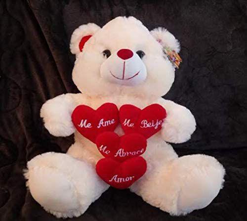 Imagem de Urso de Pelúcia Grande Me Ame Me Beije Me Abrace 7107 Fizzy