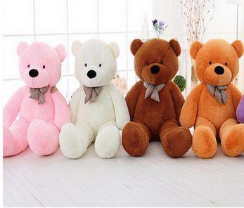 Imagem de Urso Gigante De Pelucia Teddy Bear 1,1 Metro (110cm) Cheio Rosa