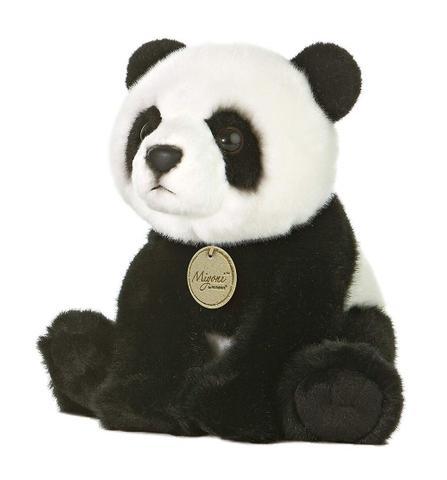 Imagem de Urso Panda Pelúcia Série Miyuni Aurora 22cms