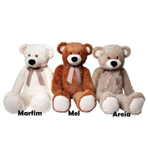 Imagem de Urso Pelúcia Gigante Presente Crianças Antialérgico 1,20cm