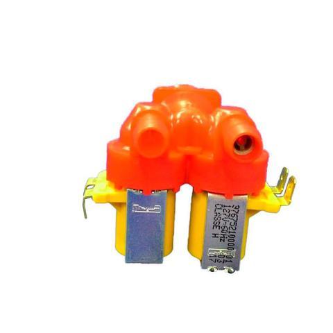 Imagem de Valvula dupla de entrada de agua lavadora electrolux 64287503 10 11 12 15 kg 127v emicol
