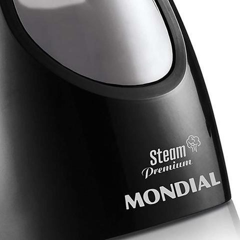 Imagem de Vaporizador de Roupas Mondial Steam Vp-01 Premium Bivolt Preta e Prata