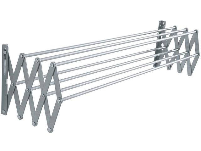 Imagem de Varal aluminio parede safonado 100x47