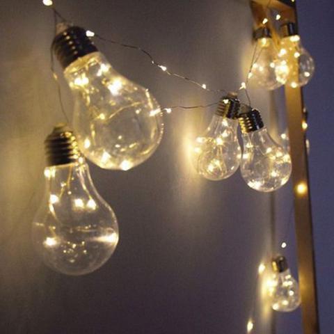 Imagem de Varal Cordão De Led C/10 Lâmpadas Decorativo 2,8mt Wincy