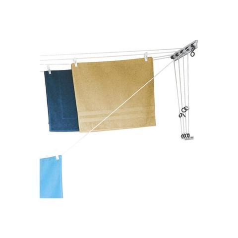 Imagem de Varal de Parede em Aço E Polipropileno com 5 Cordas Polimax