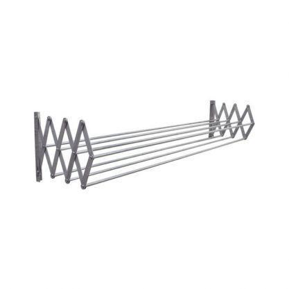 Imagem de Varal de Parede Sanfonado em Alumínio 90cm