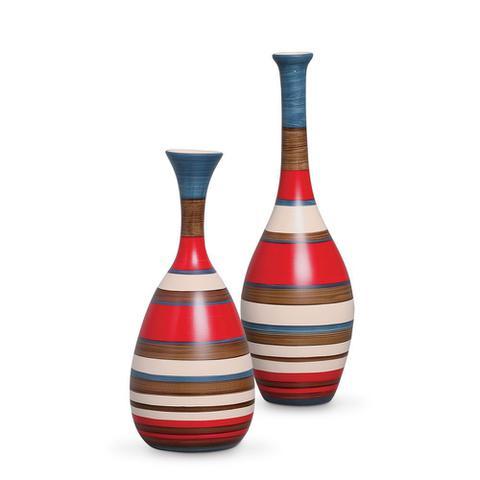 Imagem de Vaso Decorativo em Cerâmica Enfeite Sala Objeto Decoração