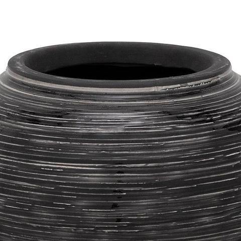 Imagem de Vaso lounge smoke 20 cm pt mde