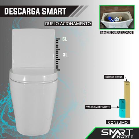 Imagem de Vaso Sanitário Acoplado (monobloco) Confort Plus