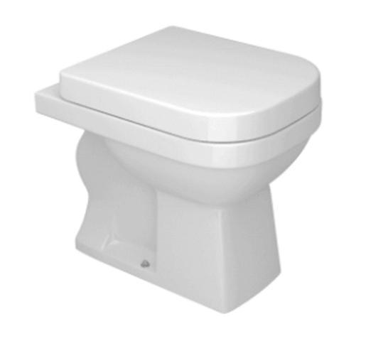 Imagem de Vaso Sanitário para Caixa Acoplada Quadra Branco Deca