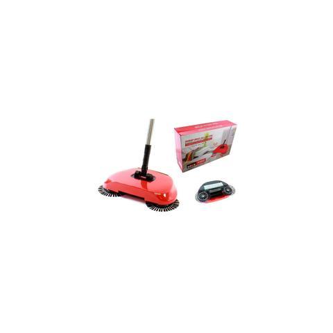 Imagem de Vassoura magica inteligente 3 em 1 aspirador de pó manual com dispenser easy clean dobravel